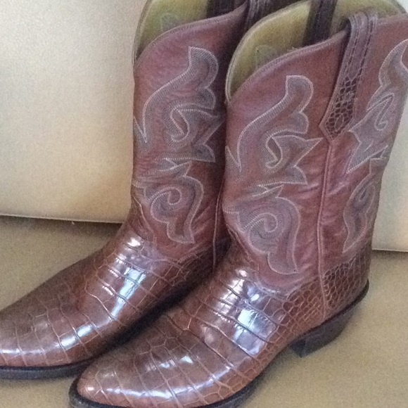 819f05d45c1 J.B.Hill Cowboy boots baby alligator